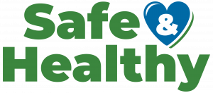 Safe and Healthy logo